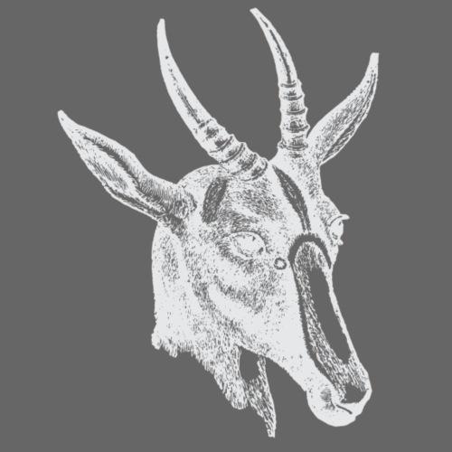 Weisse Antilope - Männer Premium T-Shirt