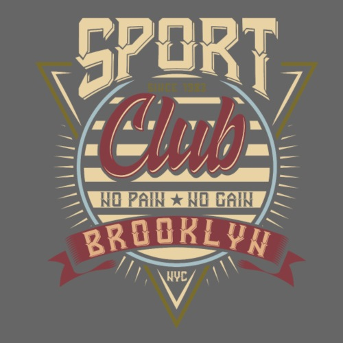 Sport Club Brooklyn - Männer Premium T-Shirt