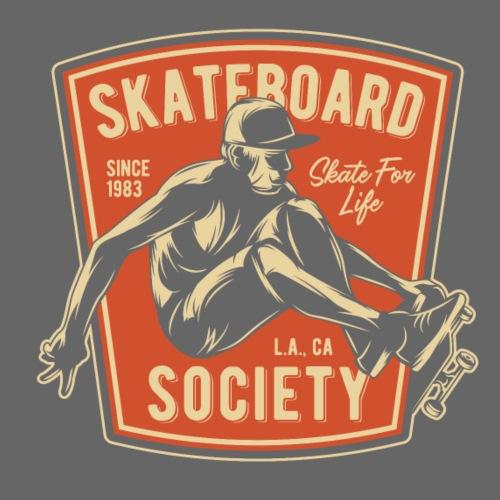Skateboard Society - Männer Premium T-Shirt