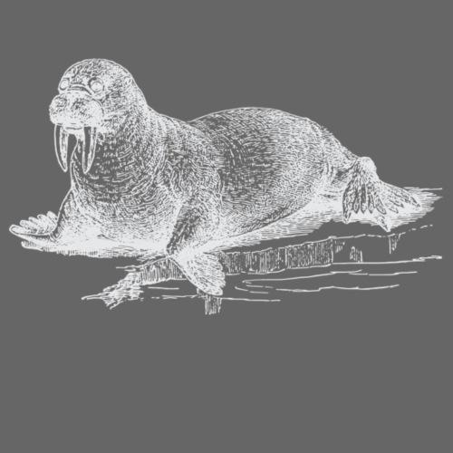 Weisses Walross - Männer Premium T-Shirt