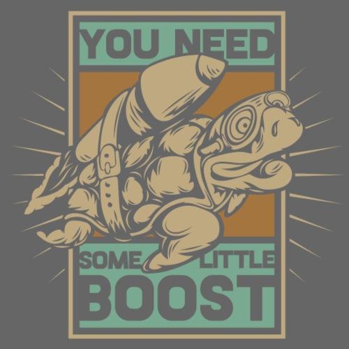Boost Turtle - Männer Premium T-Shirt