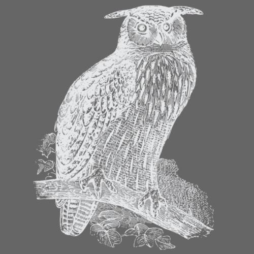 Weisser Uhu - Männer Premium T-Shirt
