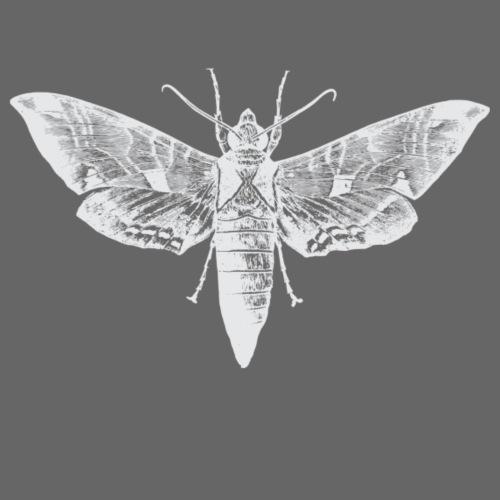 Weisser Nachtfalter - Männer Premium T-Shirt