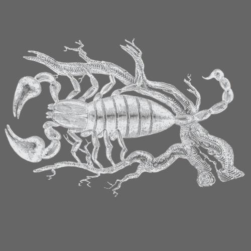 Weisser Skorpion - Männer Premium T-Shirt