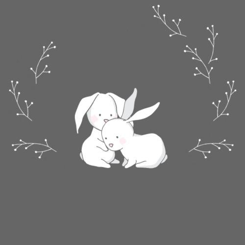 Cute Rabbits - Männer Premium T-Shirt