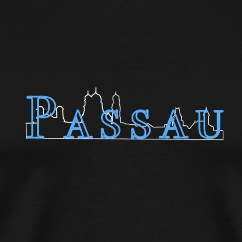 Passau Silhouette - Männer Premium T-Shirt