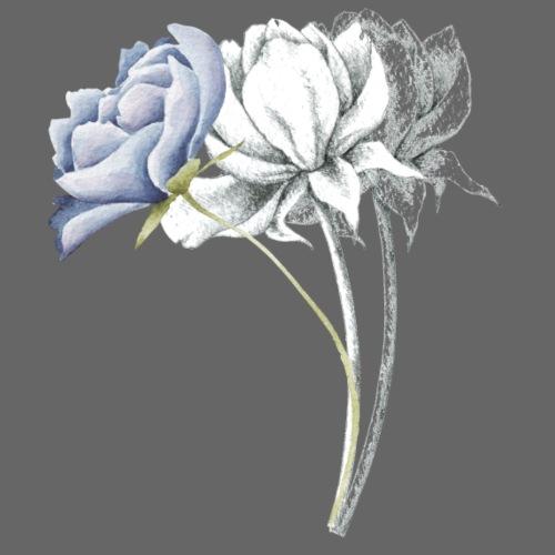 Drei Blumen - Männer Premium T-Shirt