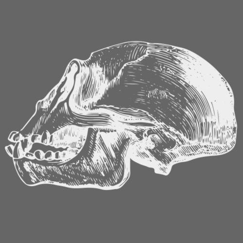 Chimp Skull - Männer Premium T-Shirt