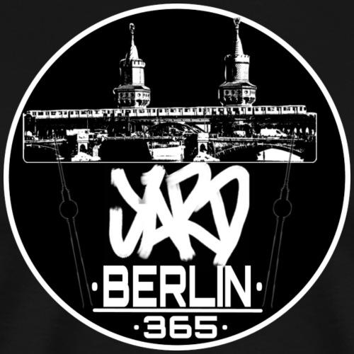 Yard Berlin 365 Streetwear - Männer Premium T-Shirt