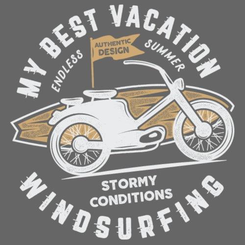 Windsurfing Bike - Männer Premium T-Shirt