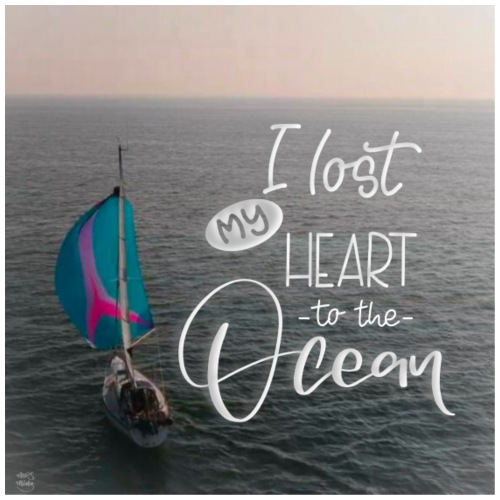 I lost my heart to the ocean - Männer Premium T-Shirt