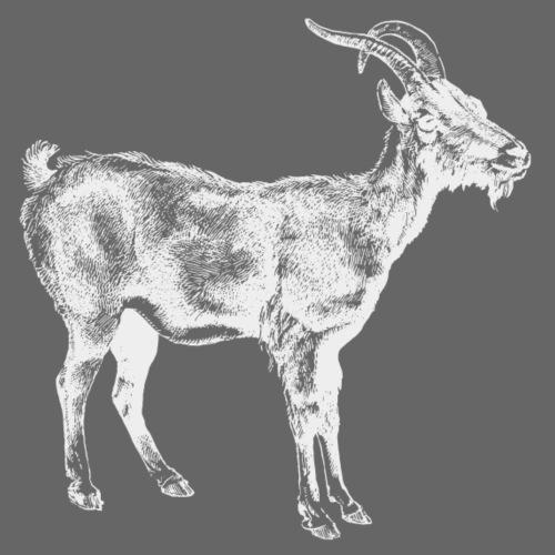 White Goat - Männer Premium T-Shirt