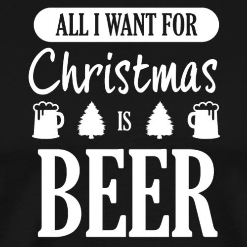 Christmas Weihnachtsbier - Männer Premium T-Shirt