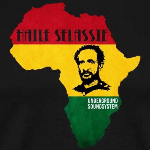 Haile Selassie Africa Repatriation - Männer Premium T-Shirt