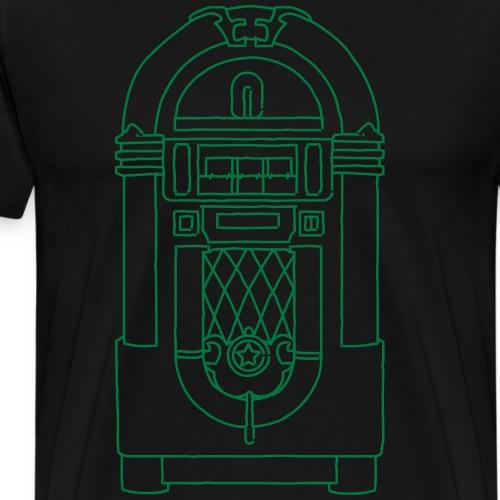 Jukebox, Musikbox - Männer Premium T-Shirt