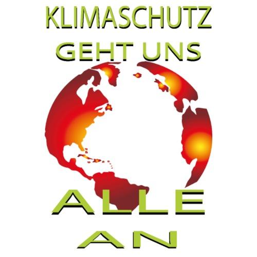 Klimaschutz Klimawandel friday for future Öko - Männer Premium T-Shirt