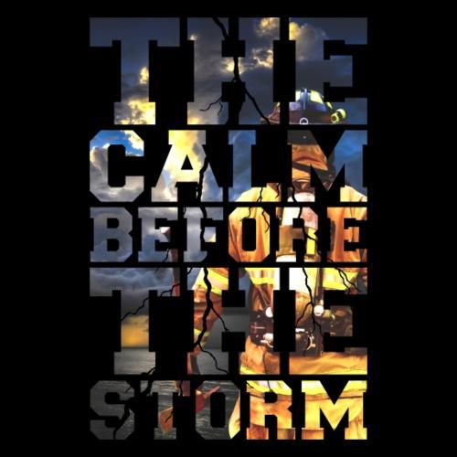 Feuerwehr - The Calm Before The Storm Firefighter - Männer Premium T-Shirt