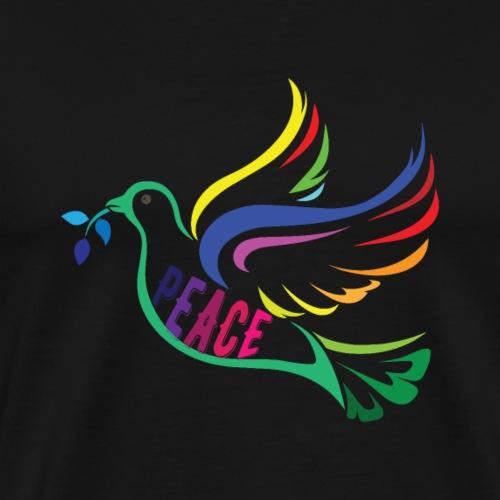 Peace Dove - Men's Premium T-Shirt