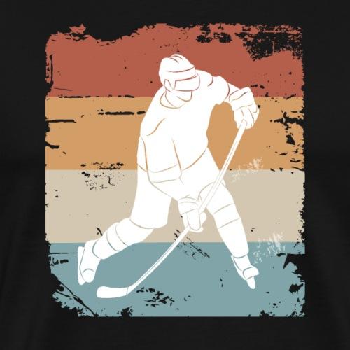 Lustiges cooles Eishockey Geschenk Hockey Slapshot - Männer Premium T-Shirt