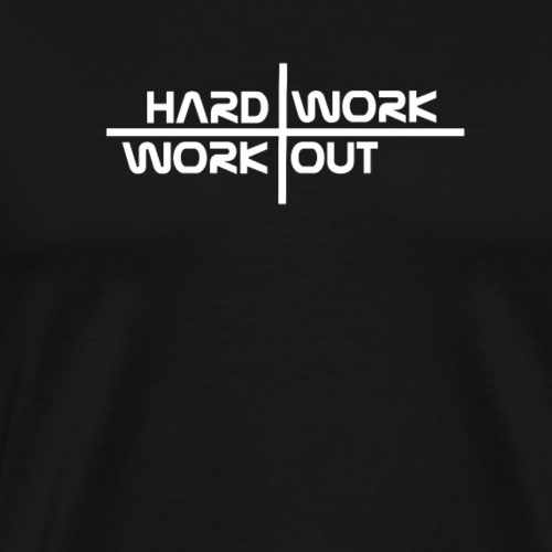 Hard work - Men's Premium T-Shirt