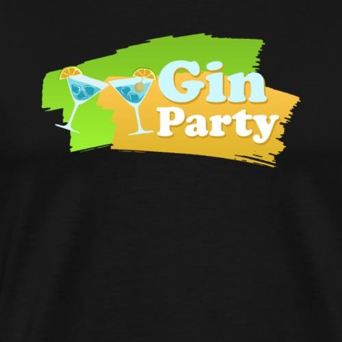 Gin party - Men's Premium T-Shirt
