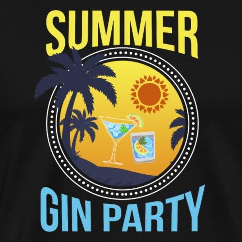 Gin party summer - Men's Premium T-Shirt