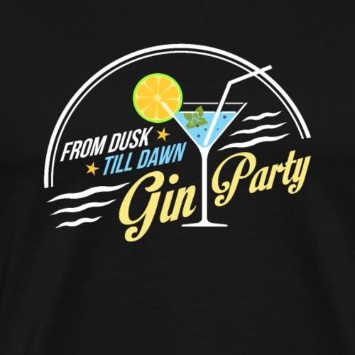 GIN PARTY - gift idea - Men's Premium T-Shirt