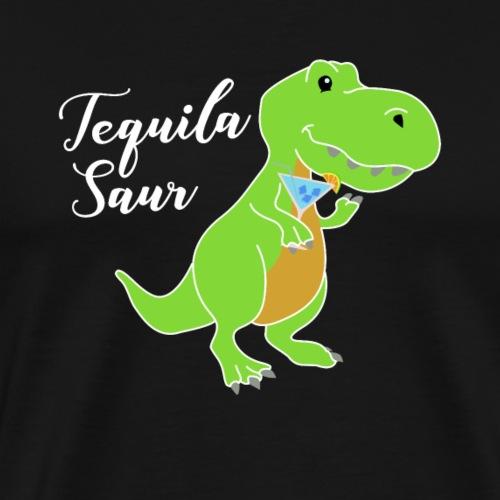 Tequila sour - dinosaur - Men's Premium T-Shirt