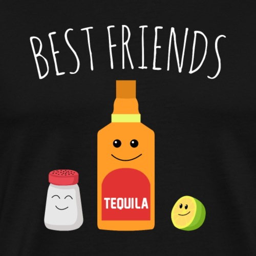 Best Friends - Tequila - Men's Premium T-Shirt