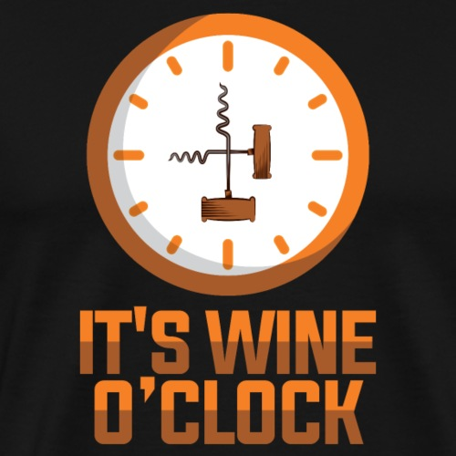 Time for wine - Men's Premium T-Shirt