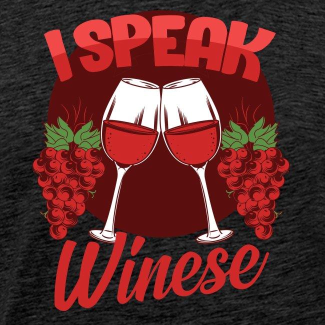 I speak wine fluently - gift idea