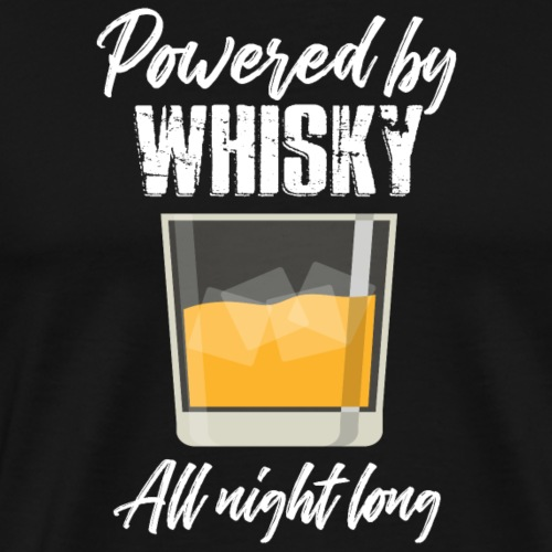 Operated by whiskey - Men's Premium T-Shirt