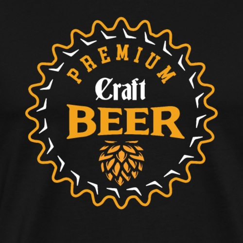 Premium Craft Beer - Men's Premium T-Shirt