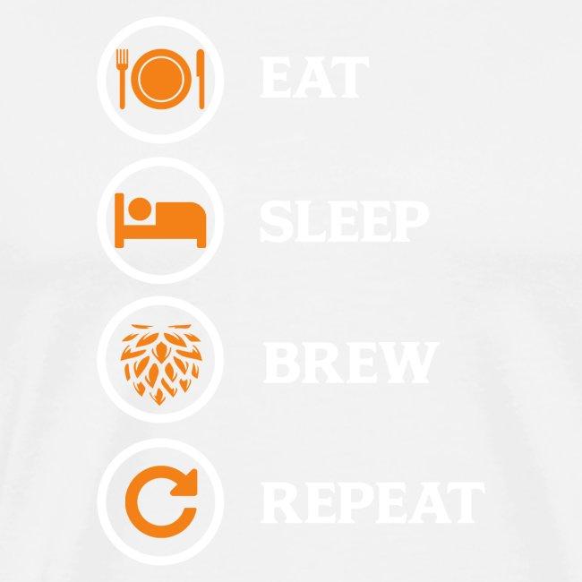 Eat Sleep Brew Repeat Brewers Gift