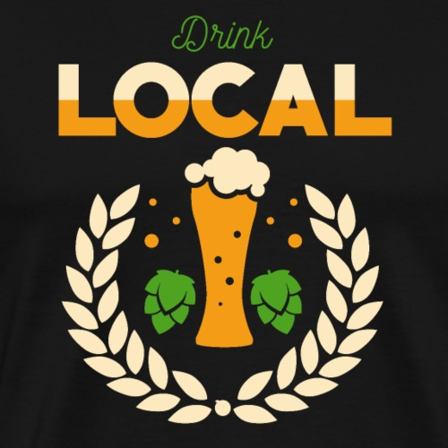 Local beer / Regional beer - Men's Premium T-Shirt
