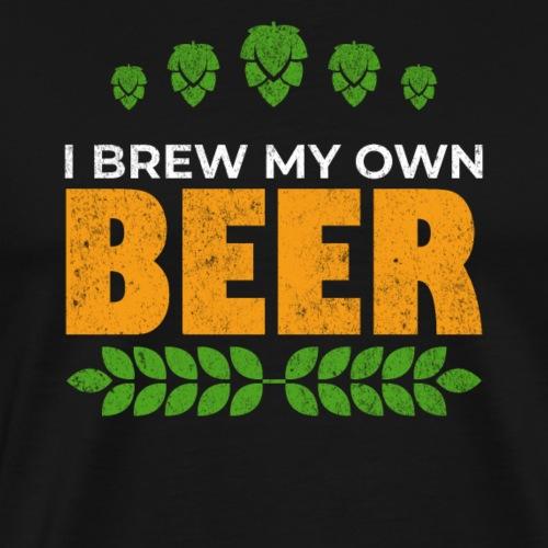 Brewer / beer fan gift idea - Men's Premium T-Shirt