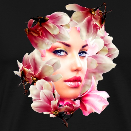 magnolia girl - Men's Premium T-Shirt