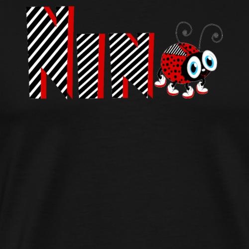 Tifo da regalo per le bambine della Coccinella della famiglia del 9 ° anno - Maglietta Premium da uomo