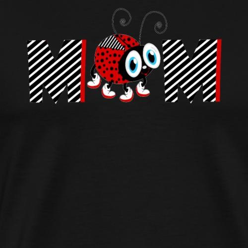 T-shirt regalo mamma 2 ° anno famiglia coccinella - Maglietta Premium da uomo
