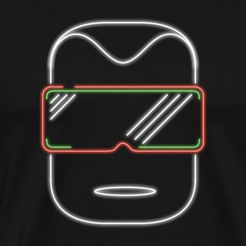 Die Zock Stube - Robot-Head - Männer Premium T-Shirt