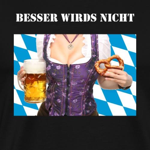 Bier TShirt Oktoberfest Geschenkidee für Herren - Männer Premium T-Shirt