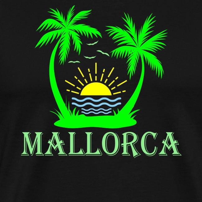 Mallorca - Palmen, Sonne - Mittelmeer