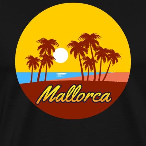 Mallorca - Als Geschenk oder Geschenkidee - Männer Premium T-Shirt