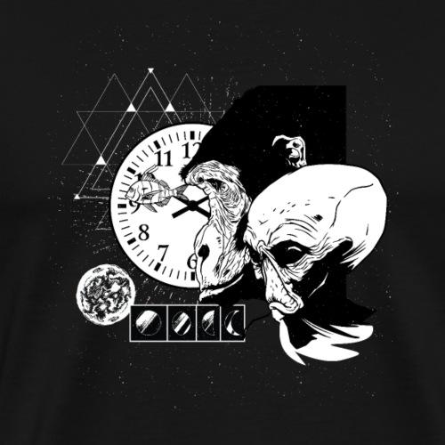 Monkey Et - Männer Premium T-Shirt