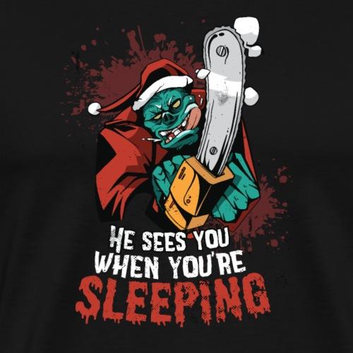 MonsterSanta - Männer Premium T-Shirt