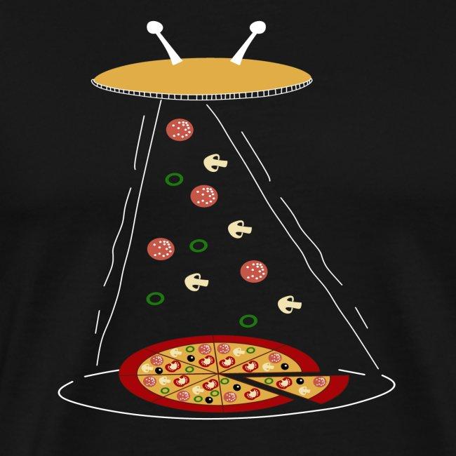 Pizza UFO divertente