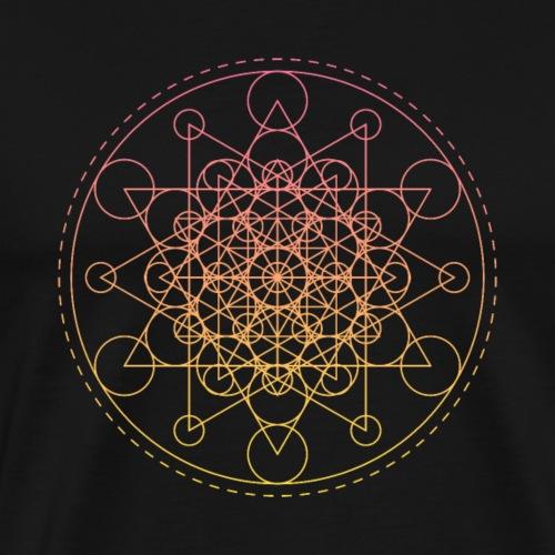 Sacred Geometry Super Star - Men's Premium T-Shirt