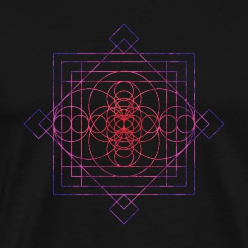 Sacred Geometry Sri Sacred - Men's Premium T-Shirt
