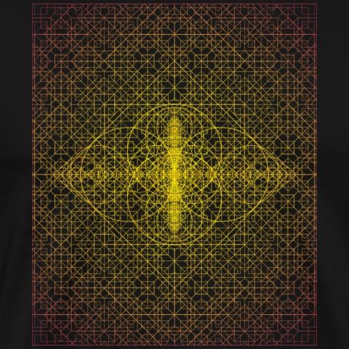 Sacred Geometry Ultra Vesica - Men's Premium T-Shirt