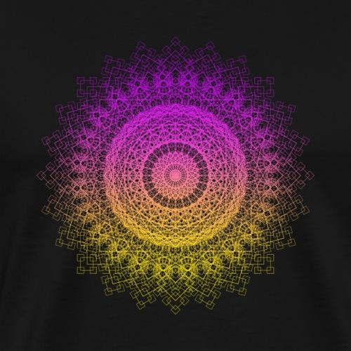 Sacred Geometry Geometric Mandala - Men's Premium T-Shirt